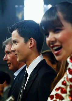Asa at the Ender's Game Premiere; He's amazing in every way.