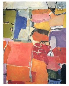"""253 mentions J'aime, 5 commentaires - Abstractexpressionism (@abstractexpressionism) sur Instagram : """"#Richard #Diebenkorn #1953 #Urbana #number #62"""""""