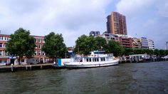 #Rotterdam seen from the boat - Top #tips to visit Rotterdam http://travel.prwave.ro/top-tips-to-visit-rotterdam/ #travel