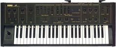 1980. My 2nd synth: The Korg Delta. Aah ... the polyphony. I didn't keep it for long - it felt too limited. Had I been able to afford keeping my MS-20, it would probably have been a great combi.   However, it got me my first published review at the age of 16 - I just mailed it to my favorite german music magazine and was overwhelmed to find the review and a check in the mail 4 weeks later. I had that experience over 300 more times later, but it never felt the same ;)