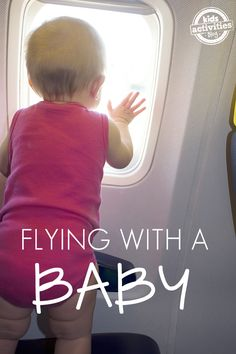Tips For Flying With A Baby - perfect for first time parents and anyone parenting an infant who loves to travel with the family.