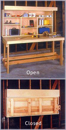 Space-Saver Workbench (Plan No. 916).
