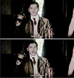 "#TheOriginals 2x11 ""Brotherhood of the Damned"" - Klaus (Flashback)"