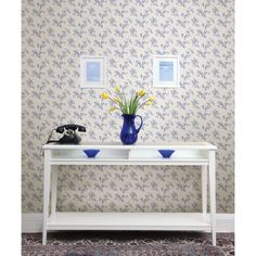 Brewster Waverly Floral Bouquet Wallpaper - 413-47086