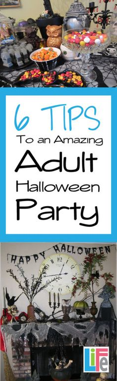 Oh yeah it is going to be great!  Tips for great Adult Halloween parties...