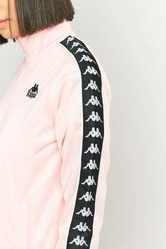 Kappa Pink Tracksuit Jacket