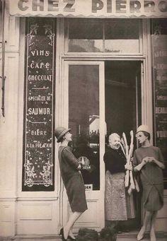 Paris 1956 Que rico el pan de antes