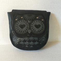 Loungefly Loungefly Black Owl Festival Belt Waist Pouch
