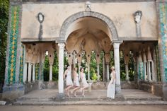 Villa Cimbrone wedding by Rochelle Cheever