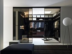 Master WIC with glass wall, sliding glass door.-- (SAME FOR DEN)