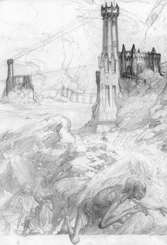 alan_lee_the lord of the rings_sketchbook_12_the road to mordor09_sketch.jpg (immagine JPEG, 1091 × 1600 pixel)