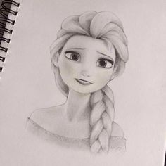 Elsa. Lol I didn't draw this but whoever did, I applaud you.