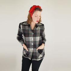 Pendleton Jackets for Women 49er jackets | Pendleton 49er jackets can be found in tartans, but this one ...