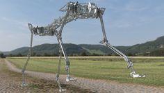 Meet Pneupard, Osaka University's Air-Powered Cheetah Robot