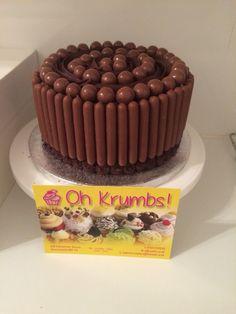 Malteaser chocolate cake