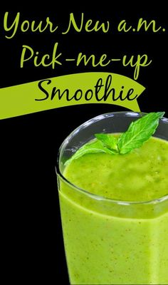 Skin Care And Health Tips: Your New a.m. Pick-me-up Smoothie 2 kiwis, 2 cups of kale 2 tsp lemom juice 4 - 5 ice cubes and 1 1/4 cup orange juice
