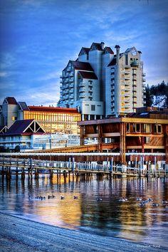 Coeur d'Alene Resort, Coeur d'Alene, ID  So beautiful