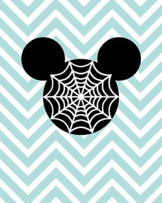 Spiderweb Halloween Mickey Mouse Disney SVG, DXF for Cricut Design Space, Silhouette, Die Cut Machines, Instant Download of svg, dxf & jpg by LunaSavita on Etsy