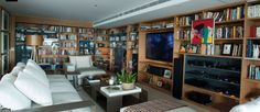 home theater + bookshelf by David Bastos