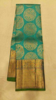 New south Silk Saree South Silk Sarees, South Indian Sarees, Indian Silk Sarees, Ethnic Sarees, Pure Silk Sarees, Kanjivaram Sarees Silk, Kanchipuram Saree, Saree Jewellery, Bridal Jewellery