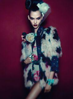 fashion cherries: karlie kloss