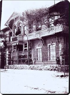 Pendik Palas, 1889 yangınından önce.