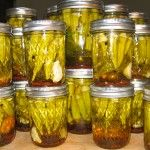 Creole Pickled Okra