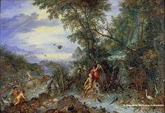 Jan Brueghel allegoria dell'acqua pinacoteca AMBROSIANA