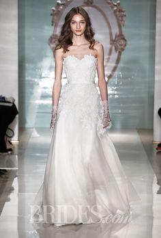 reem acra spring 2015 reem acra wedding dressorganza