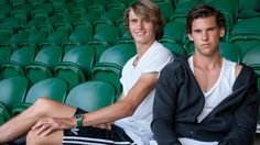 Friends, rivals, upstarts—Alexander Zverev and Dominic Thiem are on the fast track to dominate men's tennis.