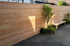 Zweeds Rabat Breed Douglas blank x () Outside Patio, Horizontal Fence, Garden Cottage, Fence Panels, Fence Design, Hedges, Sweet Home, Ibiza, Garage