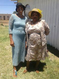 Mrs Dlamini and Mrs Khoza Women of Faith