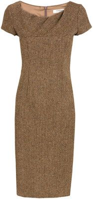 Rhian tailored Wool Dress. Simple, flattering, classic piece that would never get old. Pretty color.