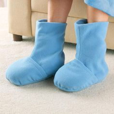 Nap™ Therapy Hot/Cold Comfort Booties. Heat or chill for soothing stress and pain relief.