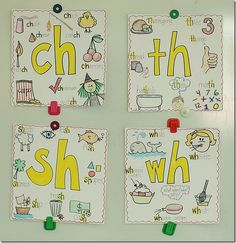 Ch, Th, Sh, Wh Anchor Charts