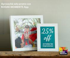 Color Time Noticias: Promo Kodak Moments 25 % OFF y CUOTAS !!