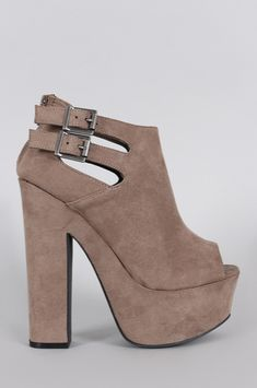 13db6385173d This edgy platform heel features a peep toe silhouette