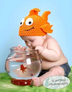 George the Goldfish Hat Pattern