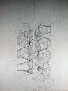 Wildly Detailed Drawings That Combine Math and Butterflies | A look at a drawing in its early stages. | Credit: Image: Rafael Araujo | From Wired.com