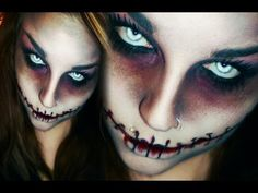 Best Youtube Halloween Make Up Images - harrop.us - harrop.us