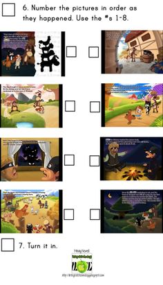 Great idea for sequencing events in a story on the iPad - http://www.technologytailgate.com/2012/11/bremen-town-app.html