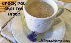 Crock Pot Chai Tea Latte Recipe