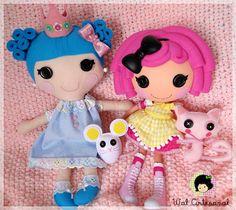 Wal Artesanal o site do feltro: boneca