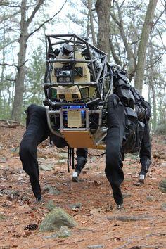 Boston Dynamics LS3: The Mechanized Follower | Walyou