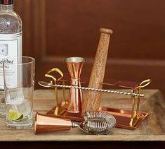 Copper Bar Tool Set #potterybarn