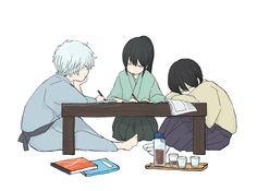 katsura kotaro Forget about the country, I can't even change one friend in the Benizakura Arc Katsura Kotaro, Manga Anime, Anime Art, Gintama, Comedy Anime, Okikagu, Hot Anime Guys, Art Sketches