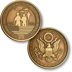 Determined to avenge the brutal terrorist attacks that claimed the lives of innocent Americans on September the United States has vowed to fight Military Challenge Coins, Military Memorabilia, Antique Coins, Bronze, Flag Design, American Flag, Seal, Product Launch, Challenges