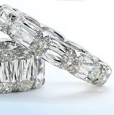 Ashoka cut Diamonds.
