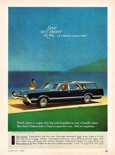 1966 Oldsmobile Vista-Cruiser Station Wagon