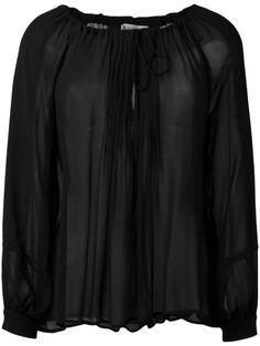 DONDUP Sannia Long Sleeve Blouse. #dondup #cloth #blouse